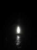 Cool cave at Playa Ventanas
