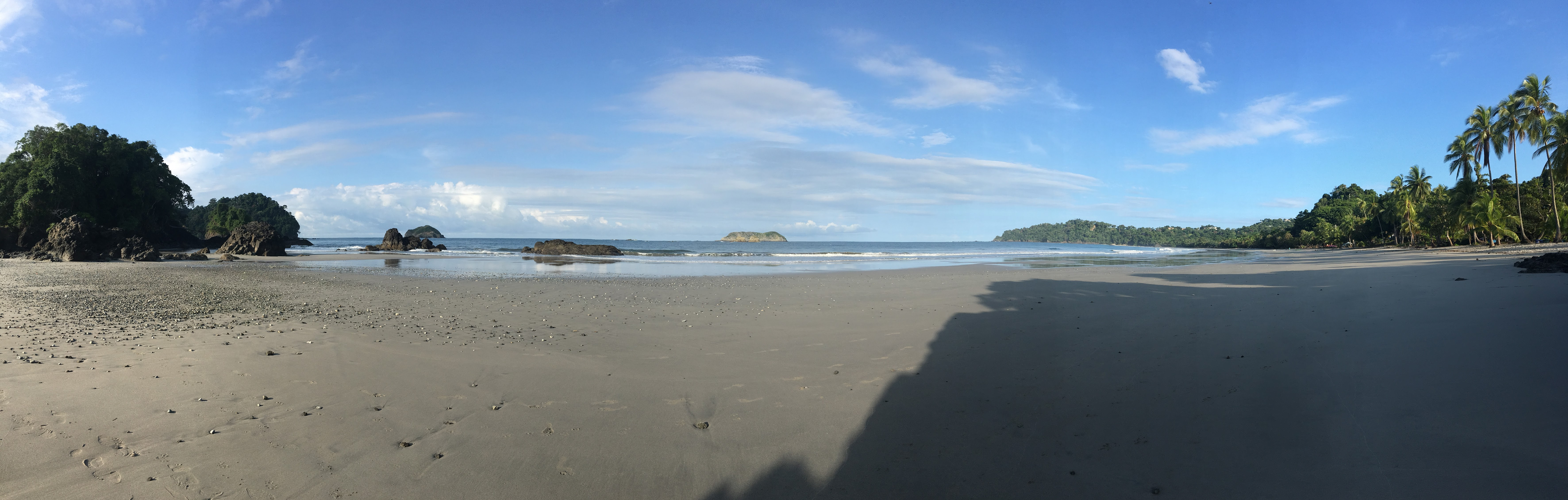 Playa Espadilla - Manuel Antonio in the early morning, outside of the national park