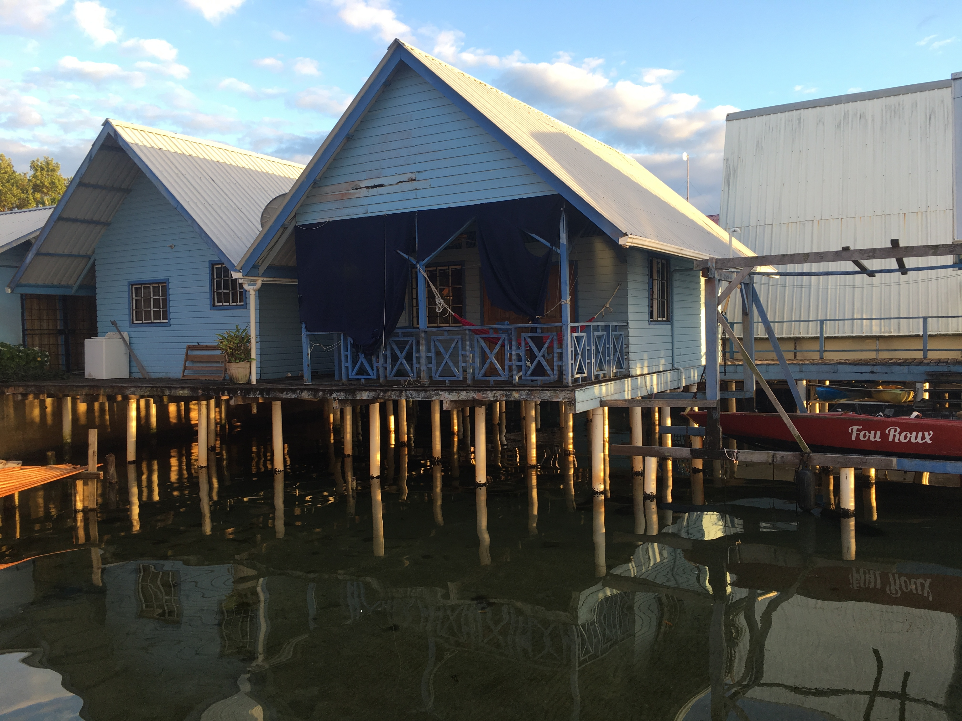Bocas del Toro stilt houses