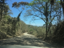 72. Montezuma. The return drive. Paquera Road _)