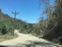 73. Montezuma. The return drive. Paquera Road _)