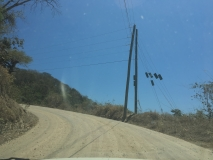 77. Montezuma. The return drive. Paquera Road _)