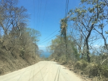 86. Montezuma. The return drive. Paquera Road _)