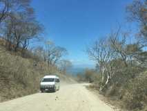 92. Montezuma. The return drive. Paquera Road _)