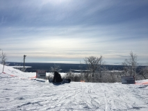 From the top of the mountain