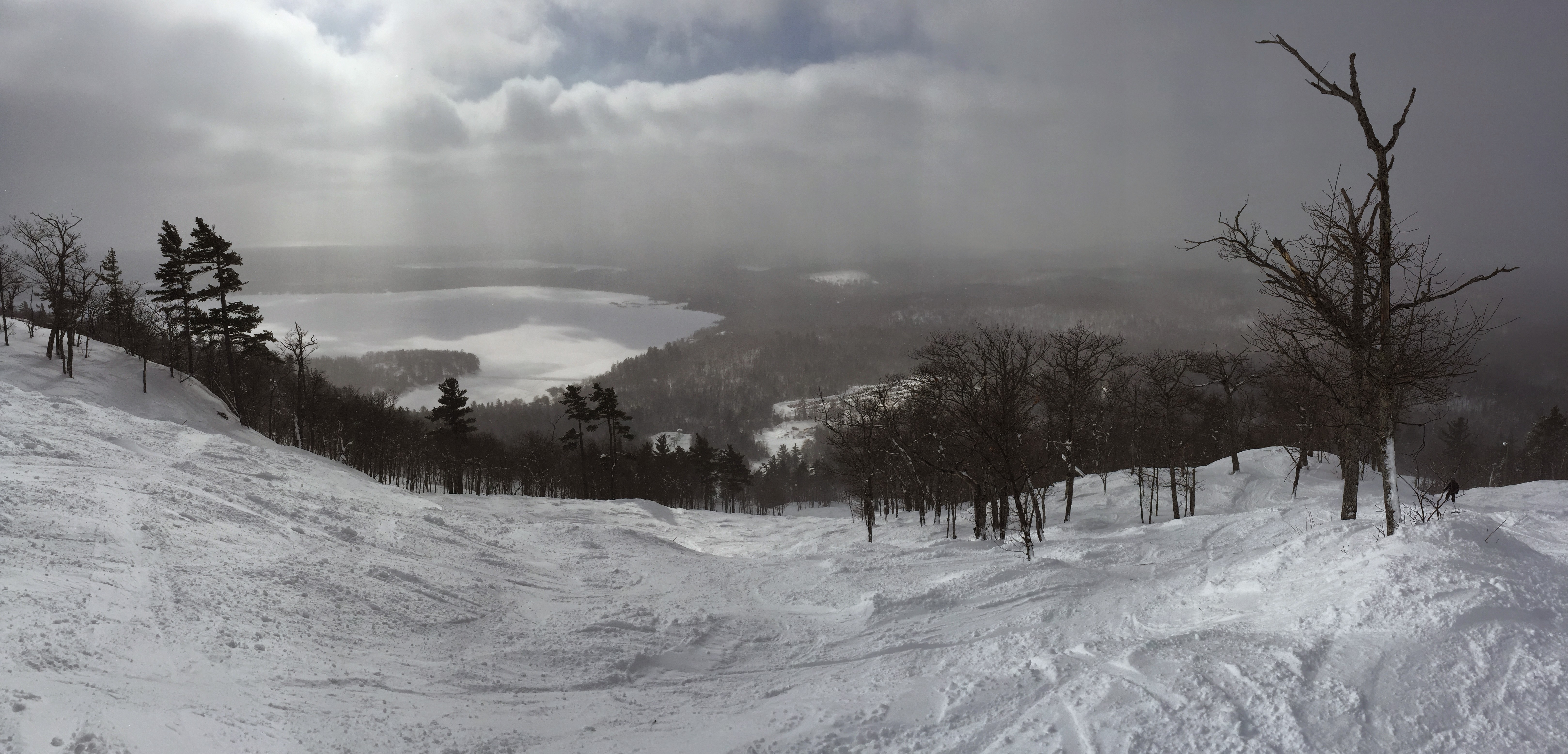 Panorama from near the top of Mt. Bohemia