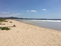 2. On the way to Playa Potrero. Playa Grande outside of Tamarindo