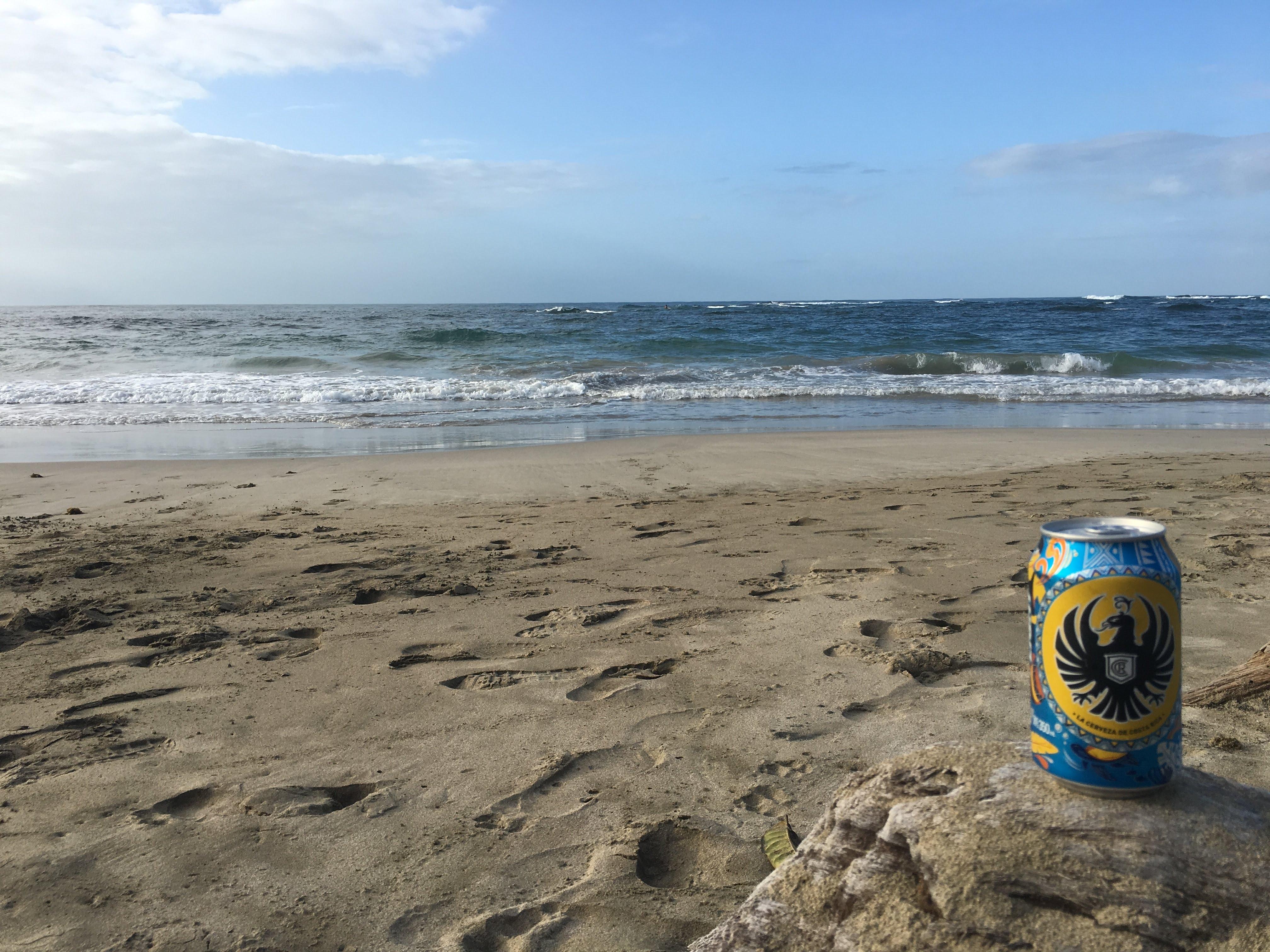 Un Imperial en la playa...¿que es mejor?