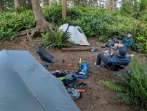 Jefferson Cove campsite
