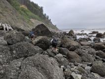 Hiking around Jefferson Cove