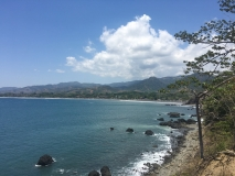 View of Jaco from outside town